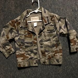 Carters Camouflage Jacket Boys 4T